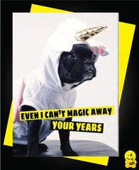 Even I can't magic away your years Animal08