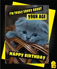 I am truly sorry about your age Animal10