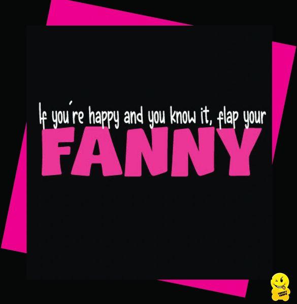 Flap your fanny C356