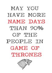 Game of Thrones - More name days C38