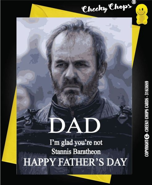 Game of thrones - Stannis Fathers Day ? F10