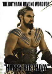 Game of thrones - Khal Drogo ? C401
