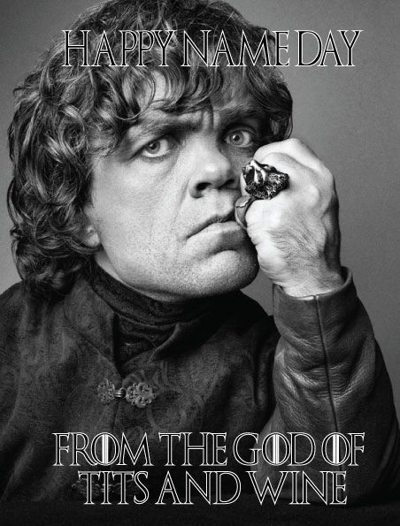 Game of thrones - Tyrion Lannister the god of tits and wine c370