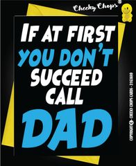 If at first you dont't succeed call DAD F16P