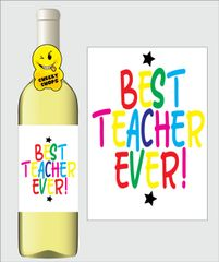Teacher Wine Label K18