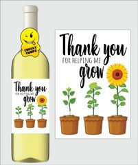 Teacher Wine Label K6