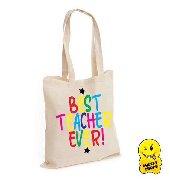 Tote/Shopper/Bag/Gift - Teacher K18