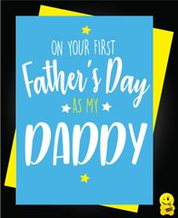 ON YOUR FIRST FATHER'S DAY AS MY DADDY F36