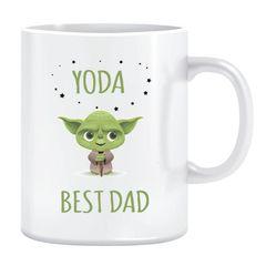 Fathers day Mug Yoda Best F1