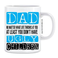 Fathers Day Mug - Whatever Life Throws At You - F6