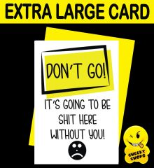 Jumbo Extra Large Card - Better Colleagues than us - N4