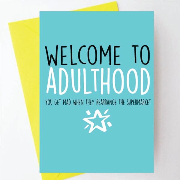 Welcome to Adulthood - BC13