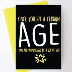 Once you hit a certain age