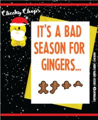 It's a bad season for gingers... XM47
