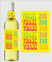 Wine Label - Thank you