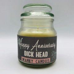 Wanky Candles Happy Anniversary Dickhead