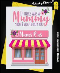 Birthday Card - MUMMY SHOP - C37