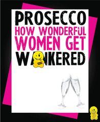 PROSECCO Birthday card C215