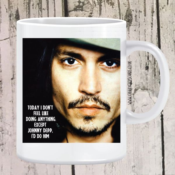I Feel Like Doing Johnny Depp Mug