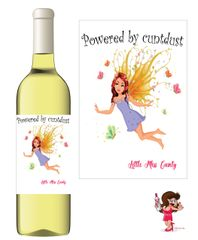 Little Miss Cunty Wine Label - LM09