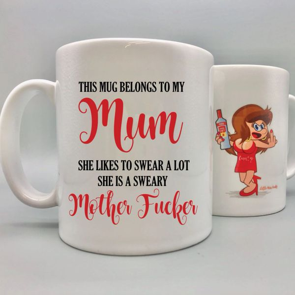 Little Miss Cunty Mug - Sweary Mother Fucker - LMC11