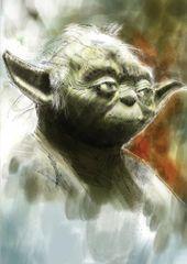 Glen Stone - Yoda Star Wars Birthday Card GS03