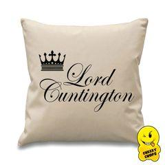 Lord Cuntington Cheeky Chops Cushion Cus02