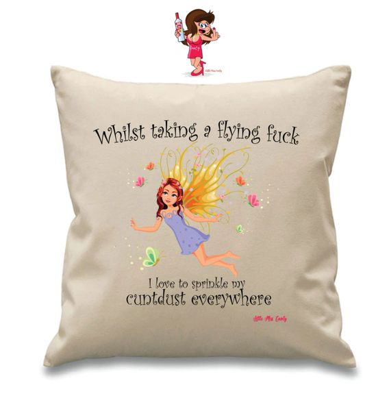 Little Miss Cunty Cushion - Whilst taking a flying fuck - LMC14