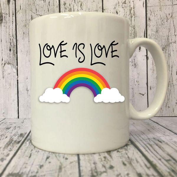 Cheeky Mug - LGBT Love is Love - MUG221