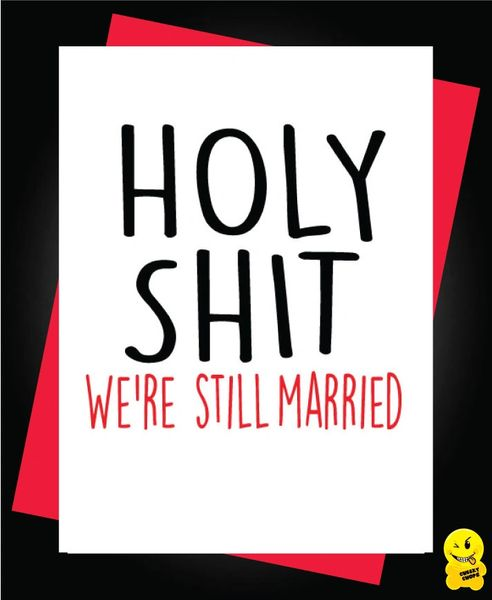 Holy Shit were still married A61
