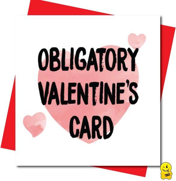 Obligatory Valentines Card V98
