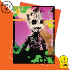 Glen Stone Illustrations Birthday Card - Baby Groot GS16