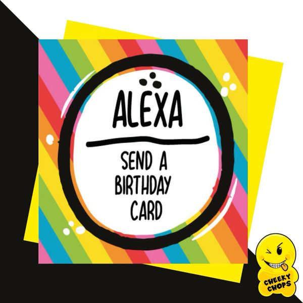 Alexa send a Birthday card JC10