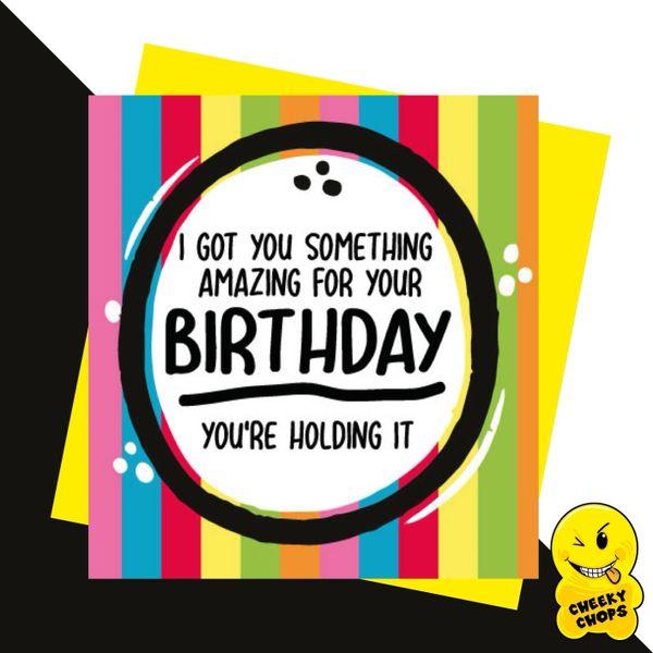 I got you something amazing for your Birthday JC11