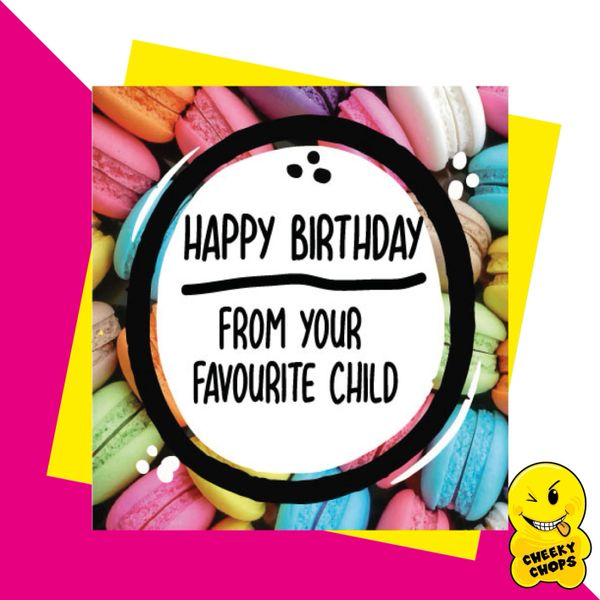 Happy Birthday from your favourite child JC22