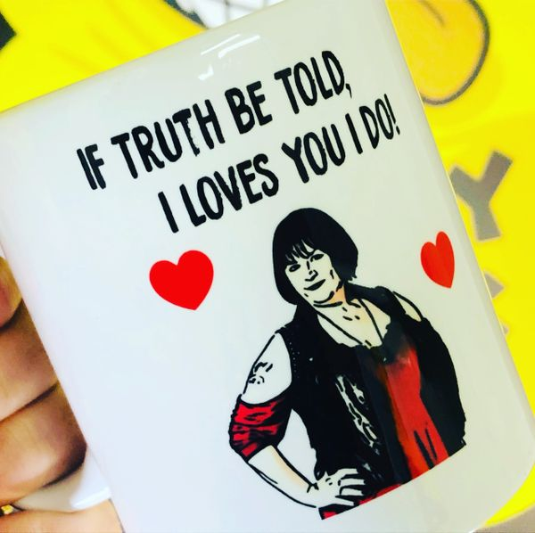 Cheeky Chops Mug - Nessa Gavin and Stacey - MUG230