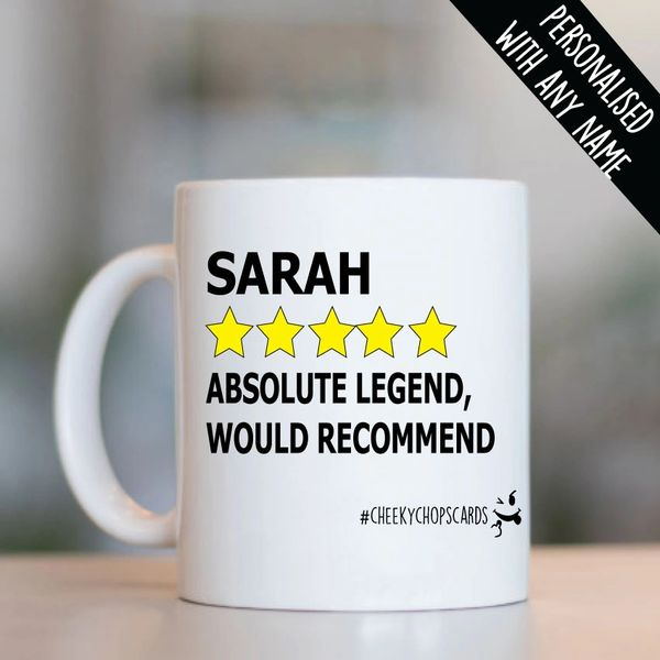 Personalised - RATING MUG - PMUG10