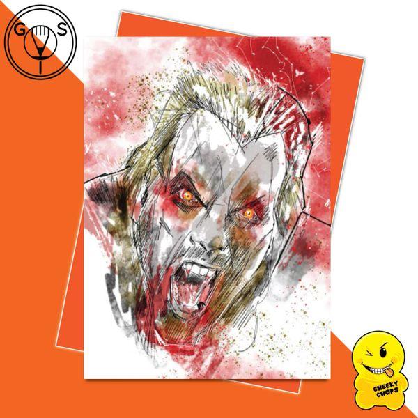 Glen Stone - The Lost Boys - David Greeting Card GS09