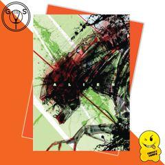 Glen Stone - Alien Predator Birthday Card Greeting Card GS04