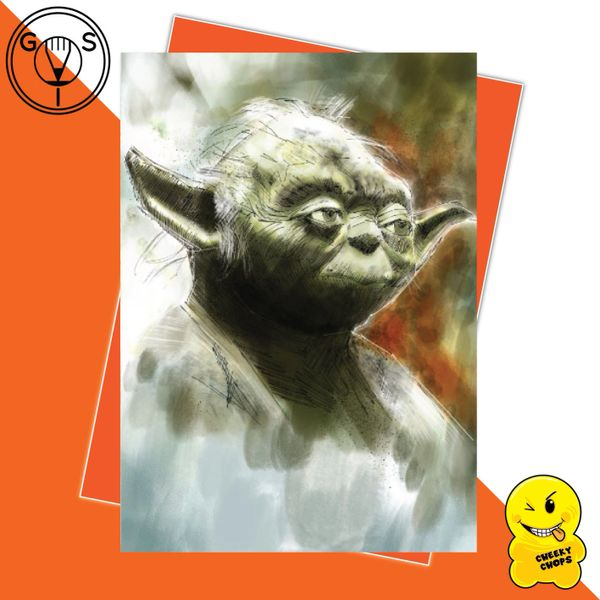 Glen Stone - Yoda Star Wars Birthday Card GS03