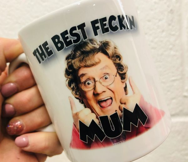 The British Feed Mrs Browns Boys Best Fecking Mum Mug MUG231