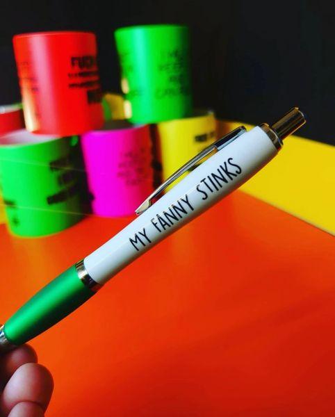 Cheeky Funny Profanity Pen - MY FANNY STINKS PEN20