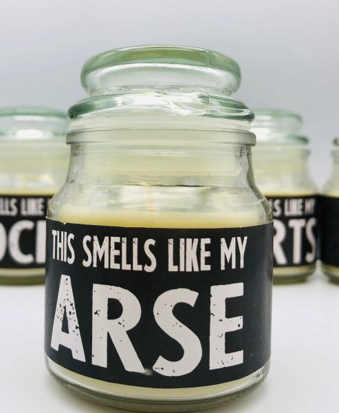 Wanky Candle, Novelty Gift Candle - This candle smells like my arse - WC55