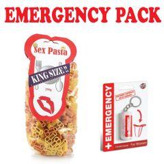 Emergency Penis Pasta & Emergency Pants Set