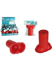 2 x Penis ice shooter shot glass mould