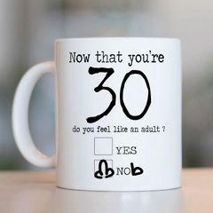 30/40/50/60/70 Now you're Age Mug MUG801