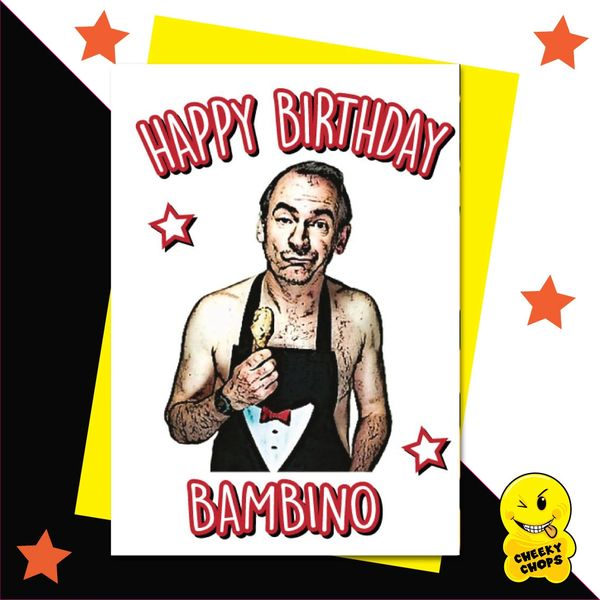 Happy Birthday Bambino - Martin Friday night dinner IN16