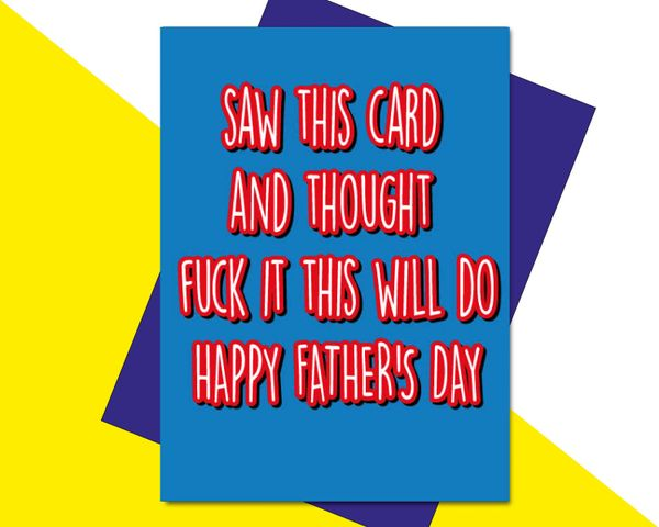 saw this card and thought fuck it this will do. F58