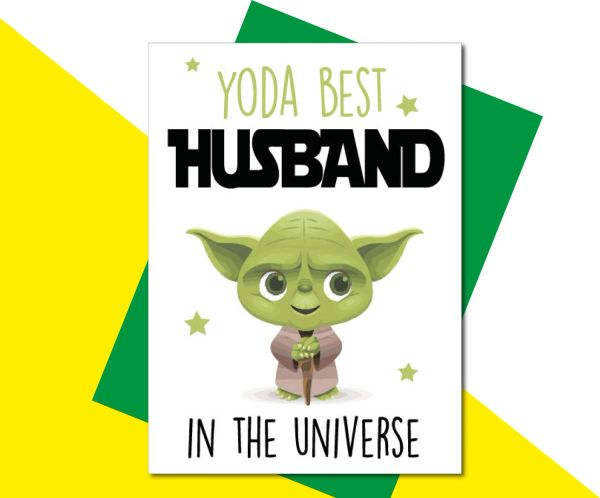 Yoda best Husband C821