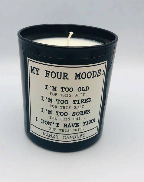 Wanky Candle - My four moods - Black jar WCBJ05